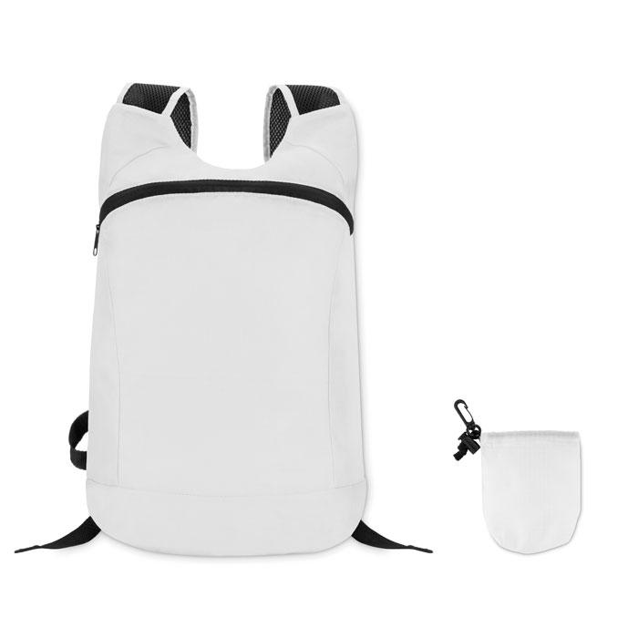 Reklamní skládací batoh JOGGY bílý