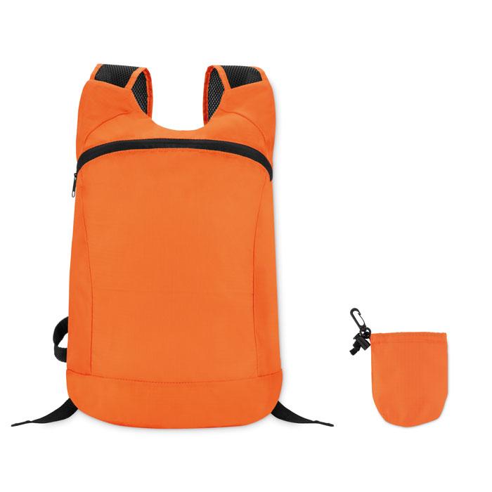 Reklamní skládací batoh JOGGY oranžový