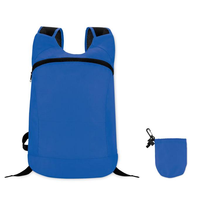 Reklamní skládací batoh JOGGY modrý