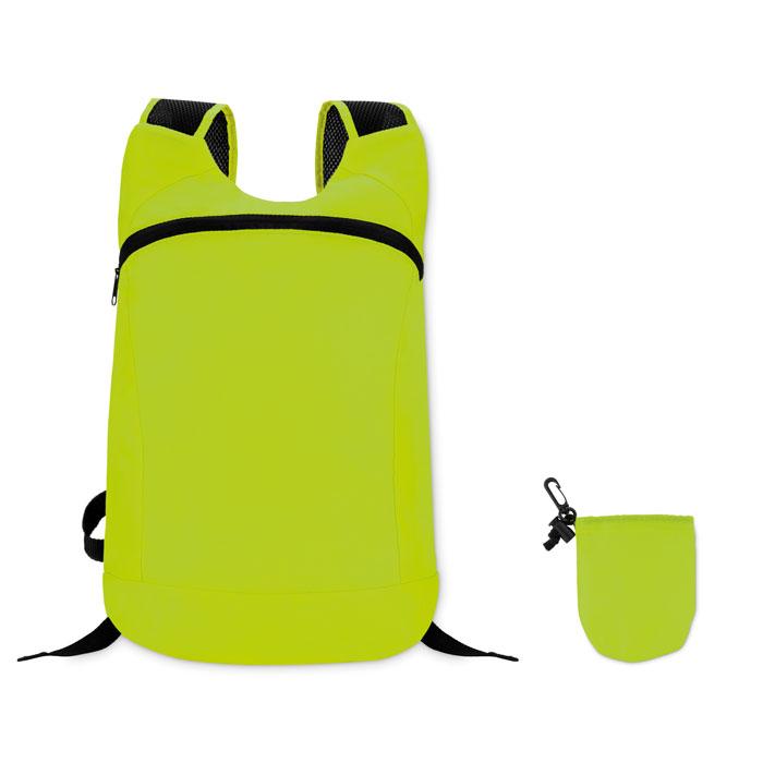 Reklamní skládací batoh JOGGY zelený