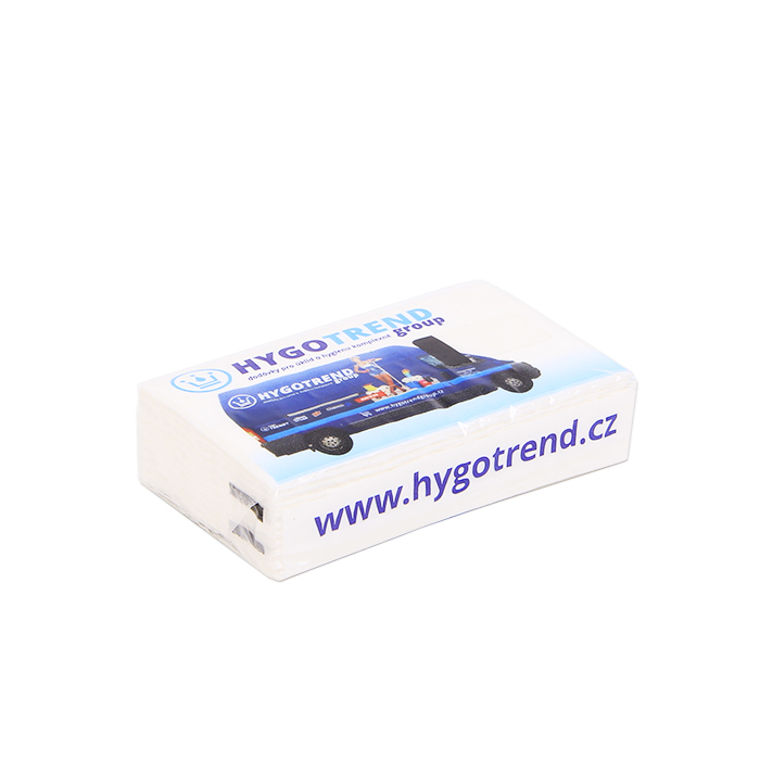 Reklamní kapesníčky Hygotrend