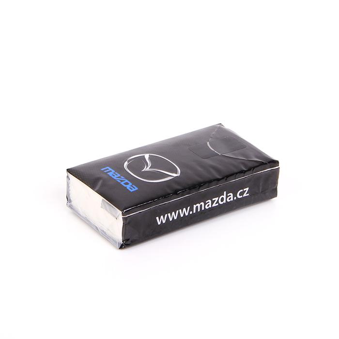 Reklamní kapesníčky Mazda