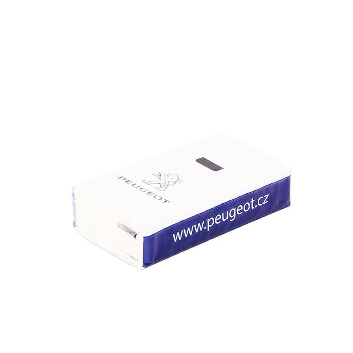 Reklamní kapesníčky Peugeot