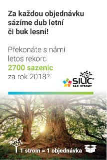 Banner sázení stromů