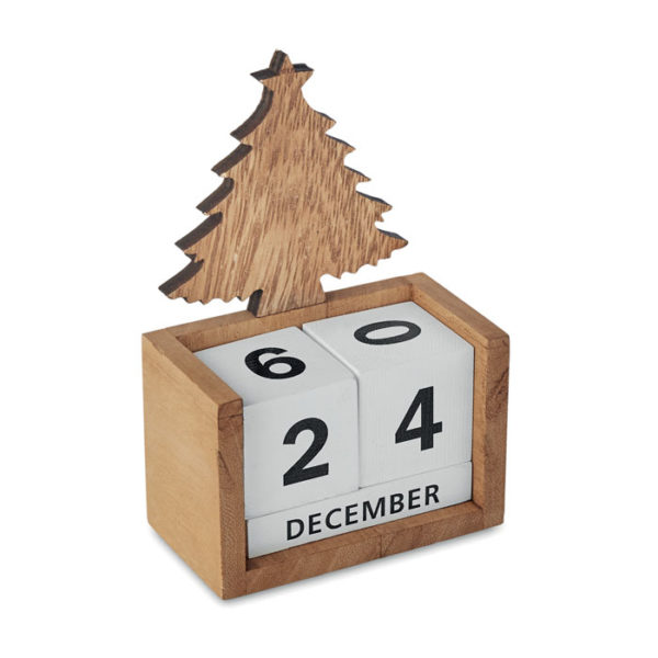 Vánoční stolní kalendář