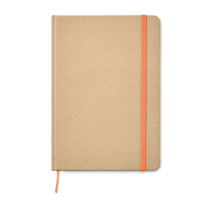 Zápisník z recyklovaného kartonu
