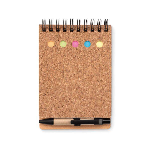 Zápisník s označovači