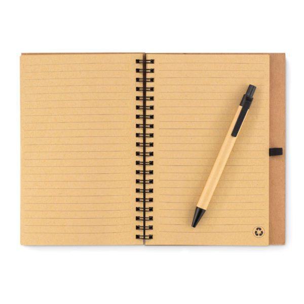 Zápisník s propiskou