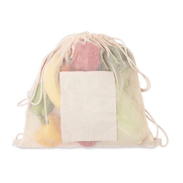 Stahovací batoh ze síťoviny