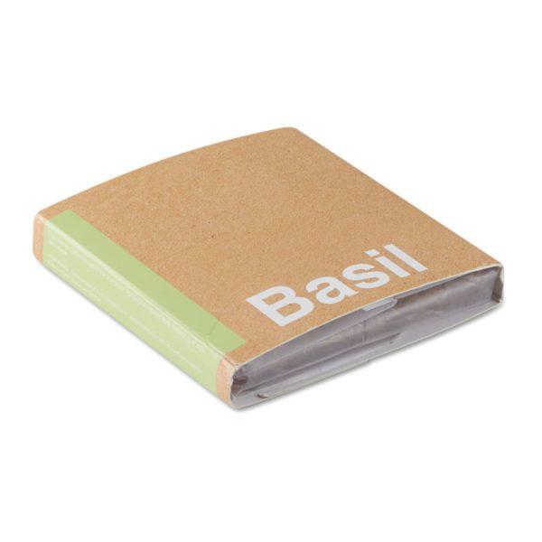 Kompostový sáček se semínky bazalky BASIL