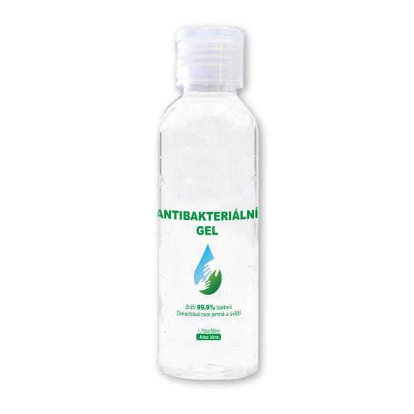 Reklamní antibakteriální gel
