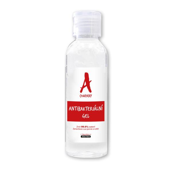 Antibakteriální gel s vlastní etiketou