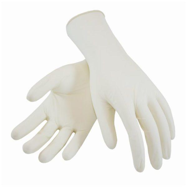 Latexové rukavice jednorázové