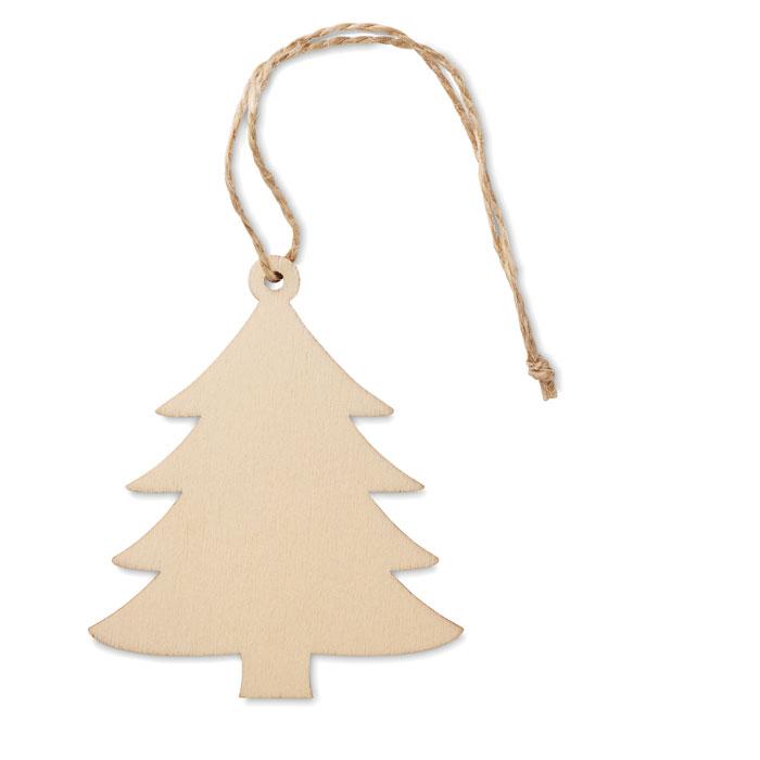 Dřevěná vánoční ozdoba stromeček ARBY