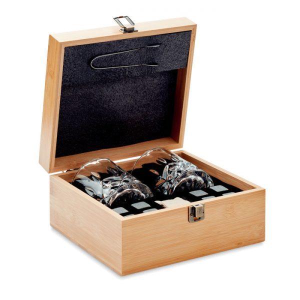 Whisky sada v dřevěné krabičce INVERNESS