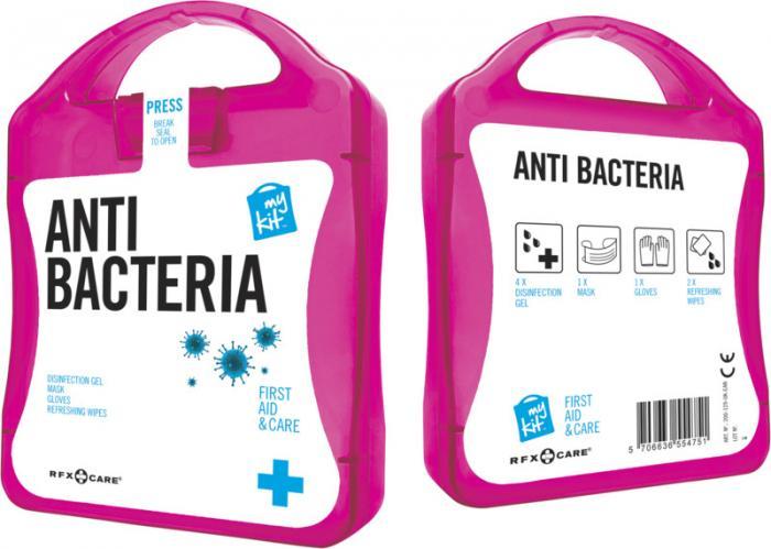 antibakteriální sada s potiskem loga