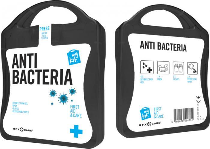 Antibakteriální kit s vlastním potiskem