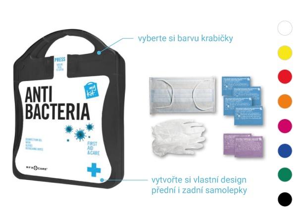 antibakteriální kit sada