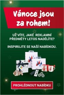vánoční reklamní předměty