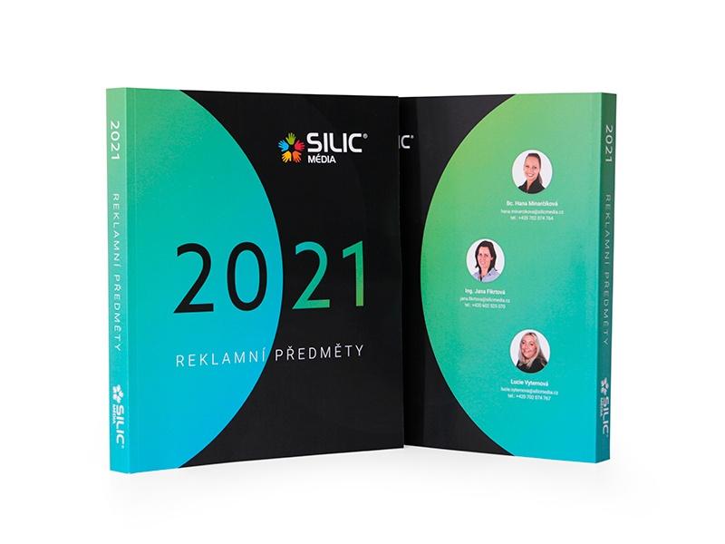 Katalog reklamních předmětů Silic Média 2021