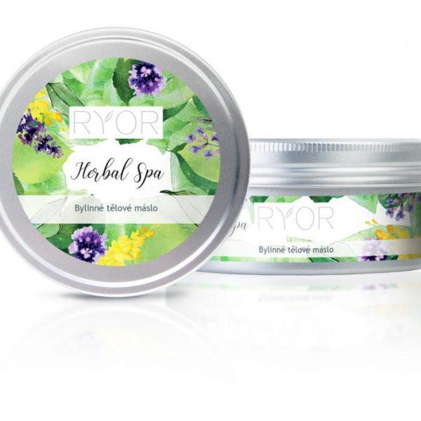 Reklamní kosmetika Ryor - bylinné tělové máslo