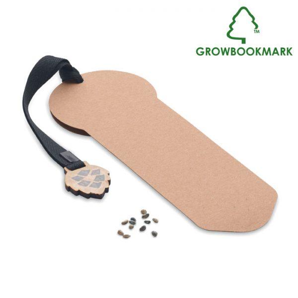 Záložka se semínky borovice GROWBOOKMARK™