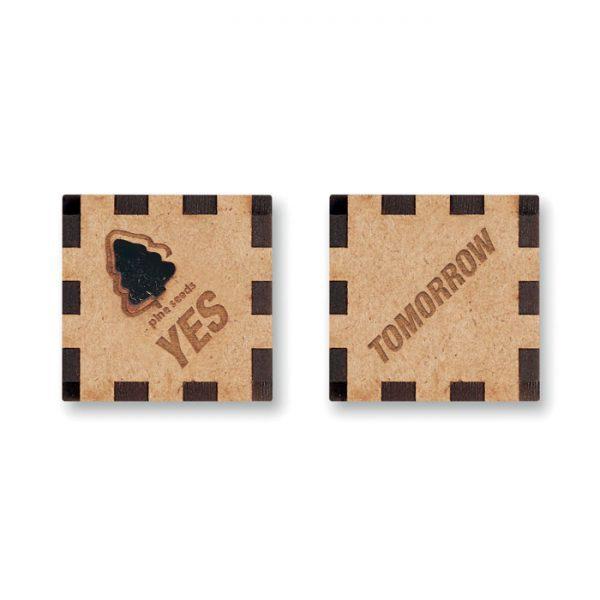 Hrací kostka se semínky borovice GROWDICE™