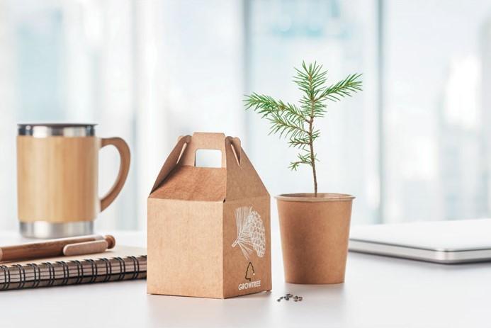 Reklamní sada pro pěstování borovice - vlastní potisk