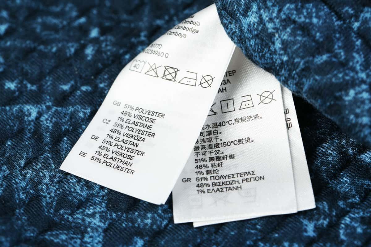 Symboly pro údržbu reklamního textilu