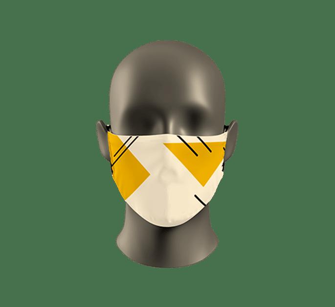Reklamní návlek na roušku či respirátor