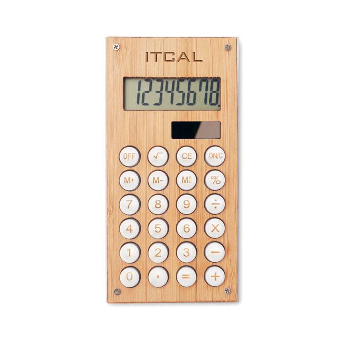 Bambusová kalkulačka CALCUBAM