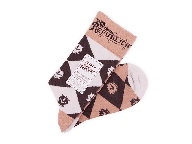 Reklamní ponožky s potiskem