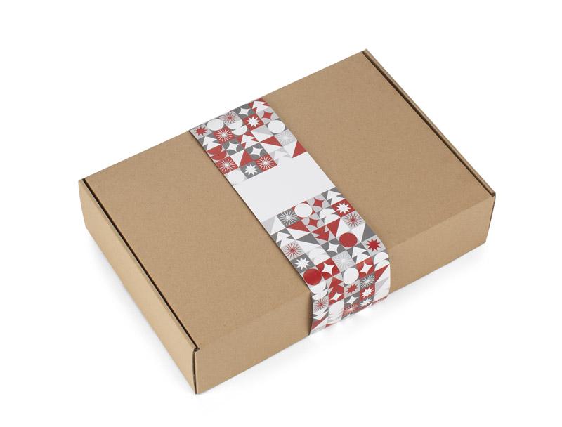 Vánoční sada GRANS - termohrnek, vánoční ponožky, káva, powerbanka sob