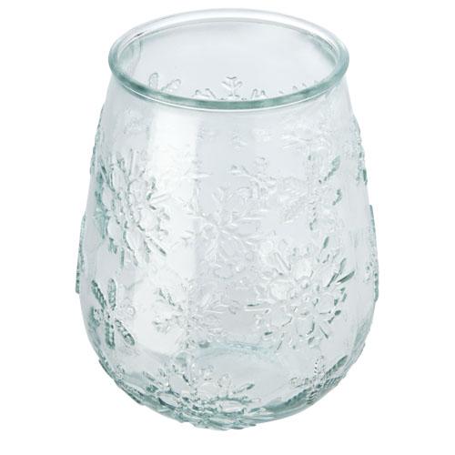 Vánoční svícen z recyklovaného skla FARO