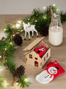 Vánoční dekorace domeček LYNX