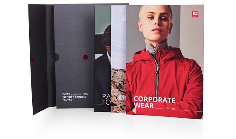 Katalog reklamního textilu ID Identity